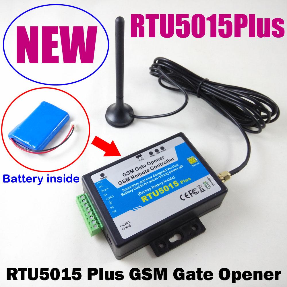 Agrox Technology Gsm Gate Opener Rtu5015 Electric Relay Plus Openerrechageable Backup Battery Inside